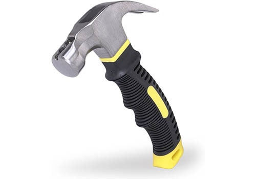 EFFICERE Best Choice 8-oz. Stubby Claw Hammer