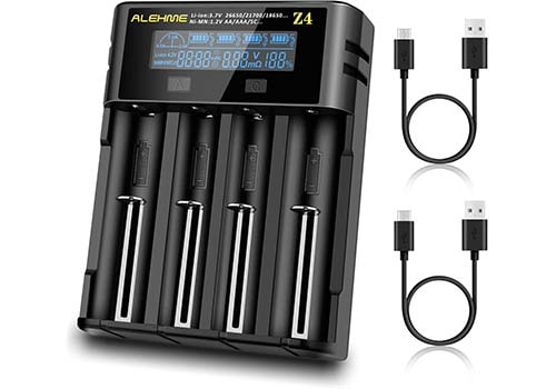 Alehme LCD Display Universal Smart Battery Charger