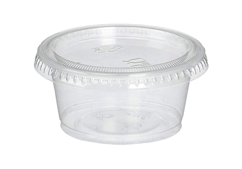 Reditainer Plastic Disposable Portion