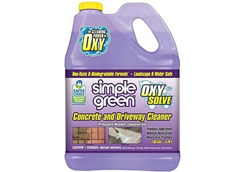 Simple Green Oxy Solve Concrete and Driveway Pressure Washer Cleaner