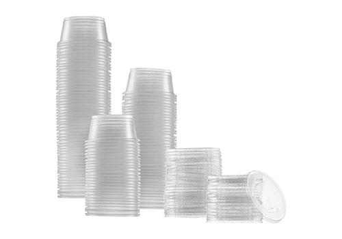 Zeml Portion Cups with Lids