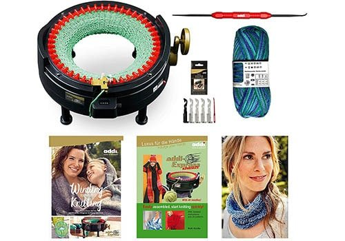 Addi New Improved Version Knitting Machine with Mechanical Counter