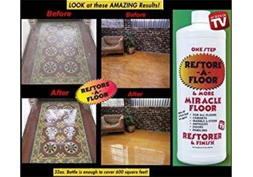 Restore A Floor Finish Wax