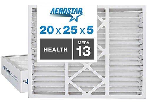 Aerostar Home Max 20x25x5 MERV 13