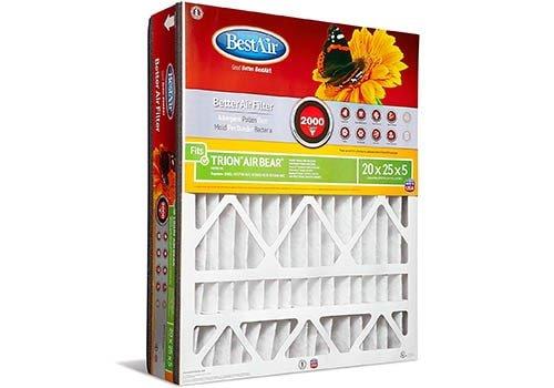 BestAir AB2025 Cleaning Furnace Filter MERV 11