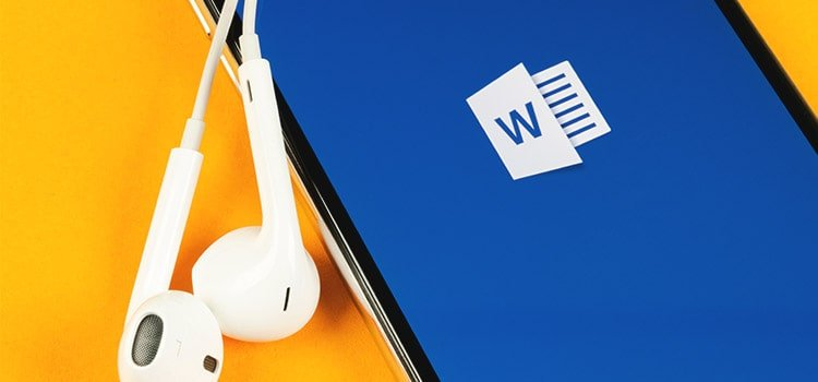 How to use Speech Recognition in Word