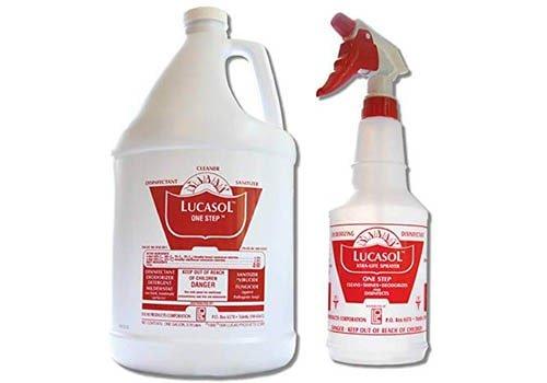 Lucasol One-Step Hospital Grade Disinfectant Sanitizer