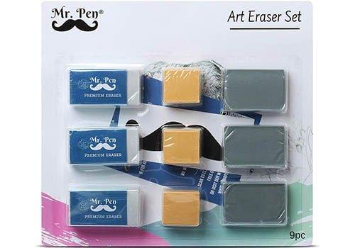 Mr. Pen Eraser Set