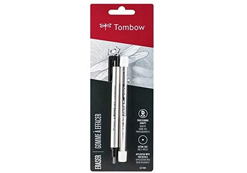 Tombow Mono Zero Eraser and Precision Tip Pen Style Eraser