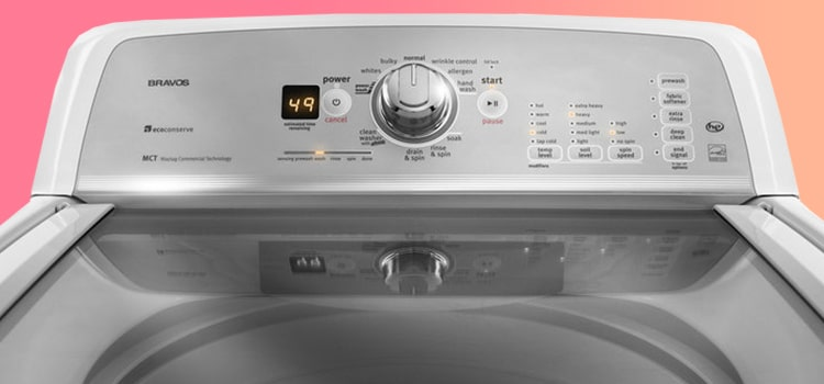 How To Reset Maytag Bravos Washer